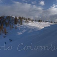 Verso la forcella del monte Cornetto