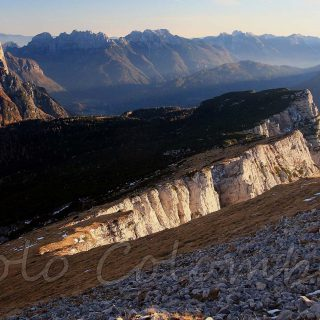 Cresta del monte Pelsa