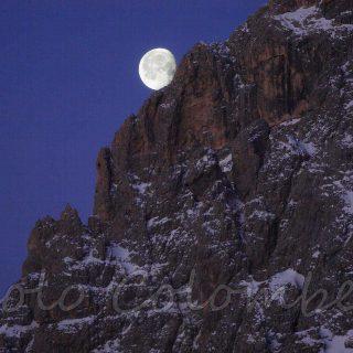 Croda Granda con la Luna
