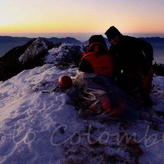Bivacco nel Mont Alt