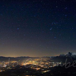 Notte in Val Belluna