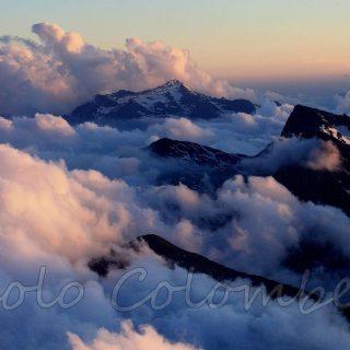 Nuvole nel Cima Asta