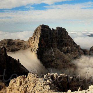 Nuvole nel Sass de Mura