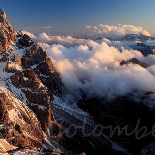 Nuvole in Val Venegia