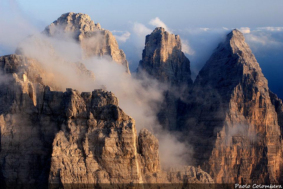 Sasso di Bosconero, Sasso di Toanella e Rocchetta Alta di Bosconero
