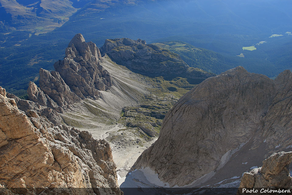 Vallon Popera e Pala di Popera (cima Nove)