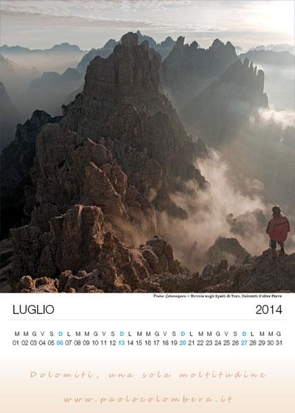 Giochi di nuvole sugli Spalti di Toro , Dolomiti d'oltre Piave