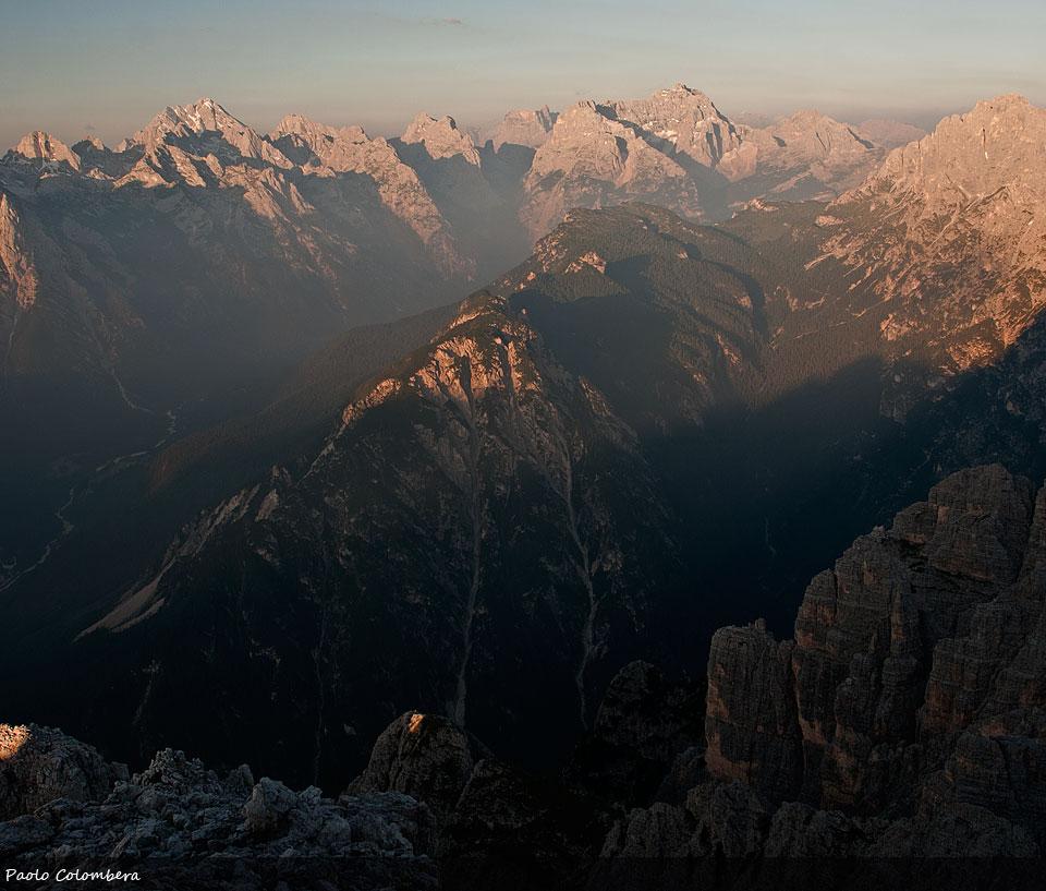 Pelmo visto dalle Dolomiti di Sesto